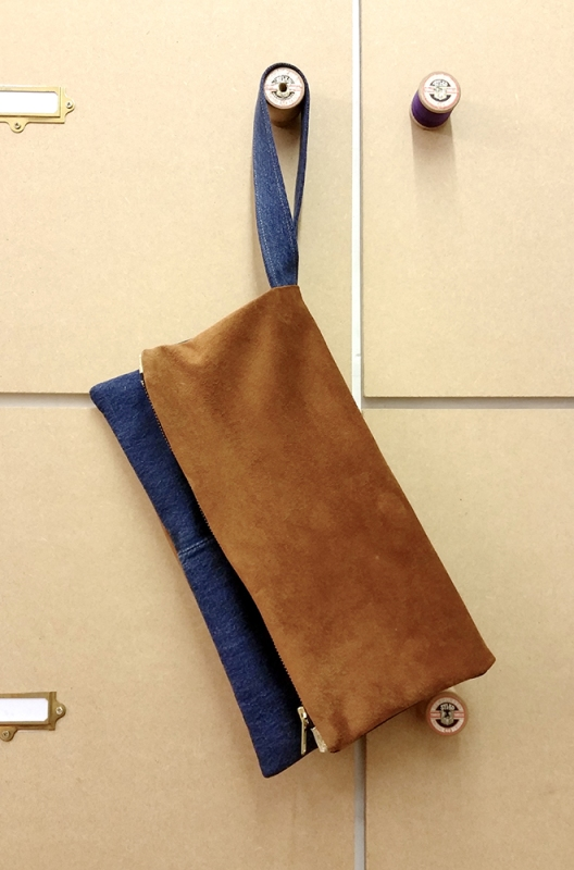how to make a clutch bag