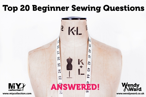 beginner sewing questions answered