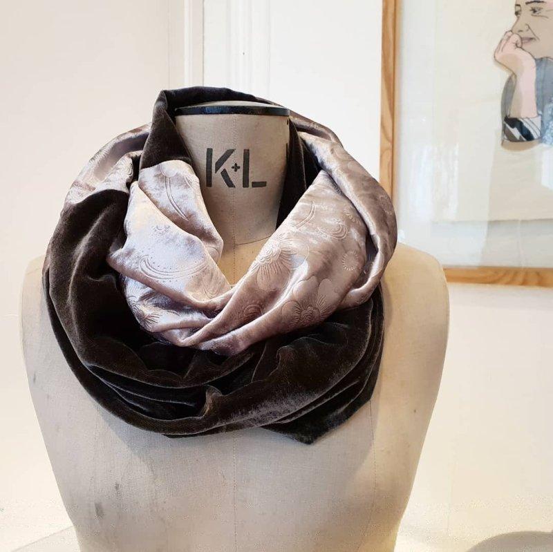 infinity scarf workshop