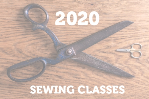2020 SEWING CLASSES